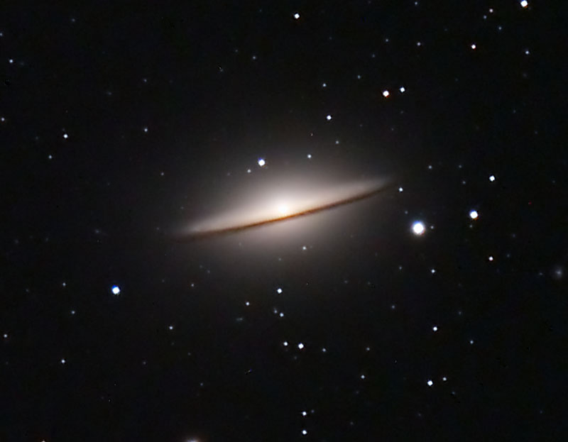 Sombrero Galaxy M104 - Pics about space
