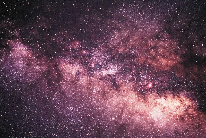 Milky Way Galaxy Nebula - Pics about space