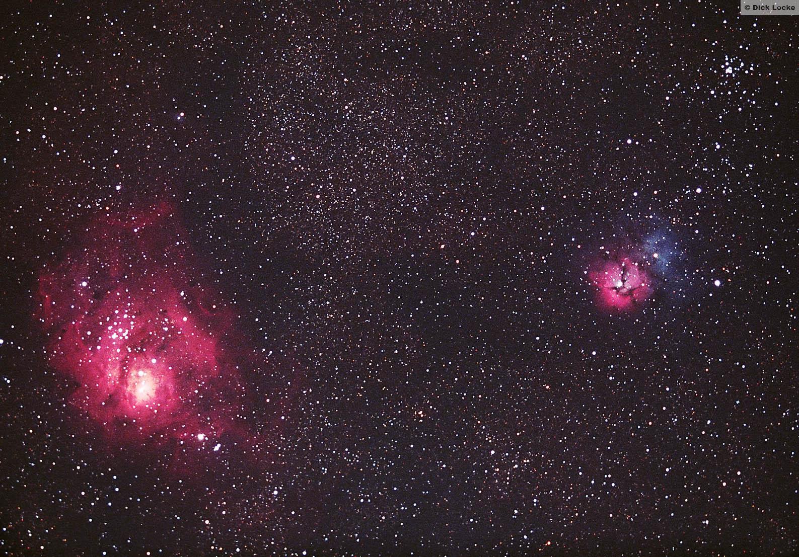 trifid lagoon nebula - photo #22