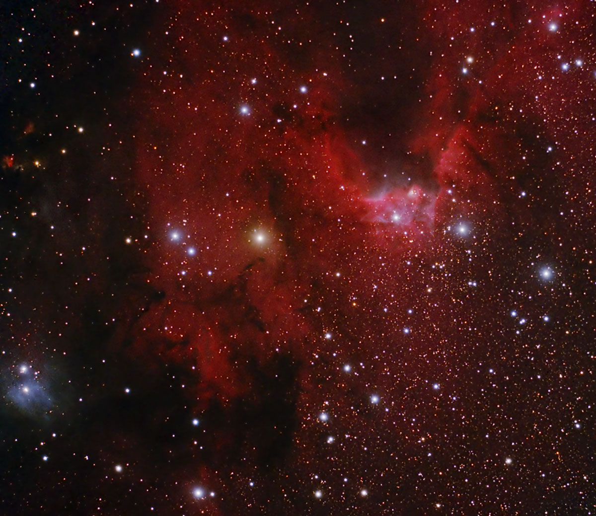 cave nebula narrow band - photo #14