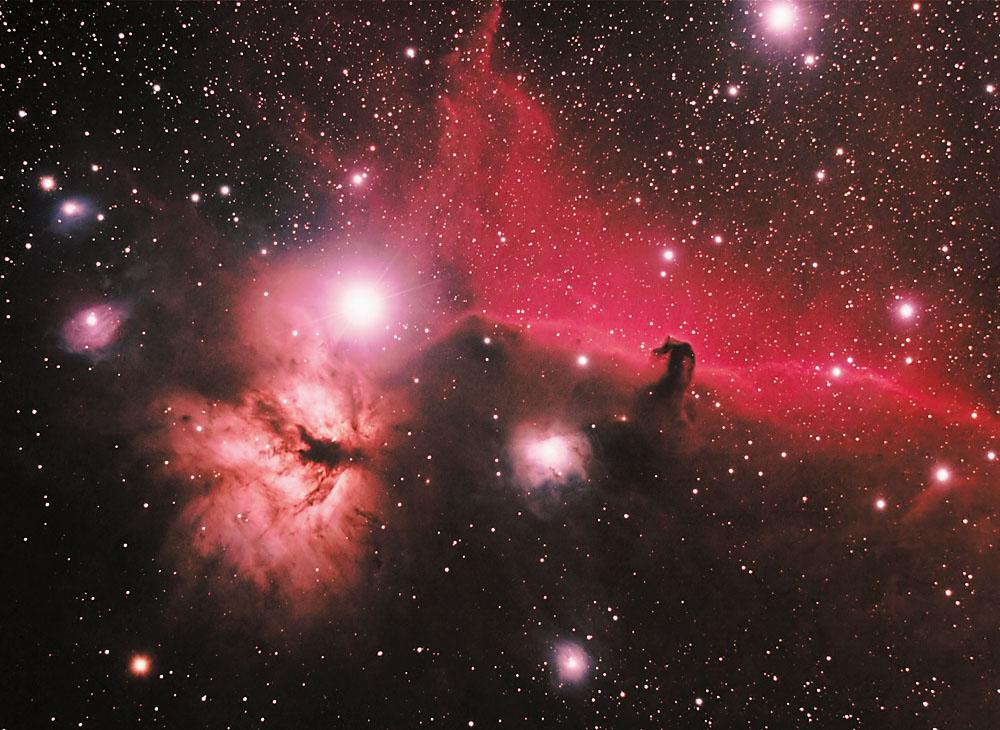 flame nebula - photo #8