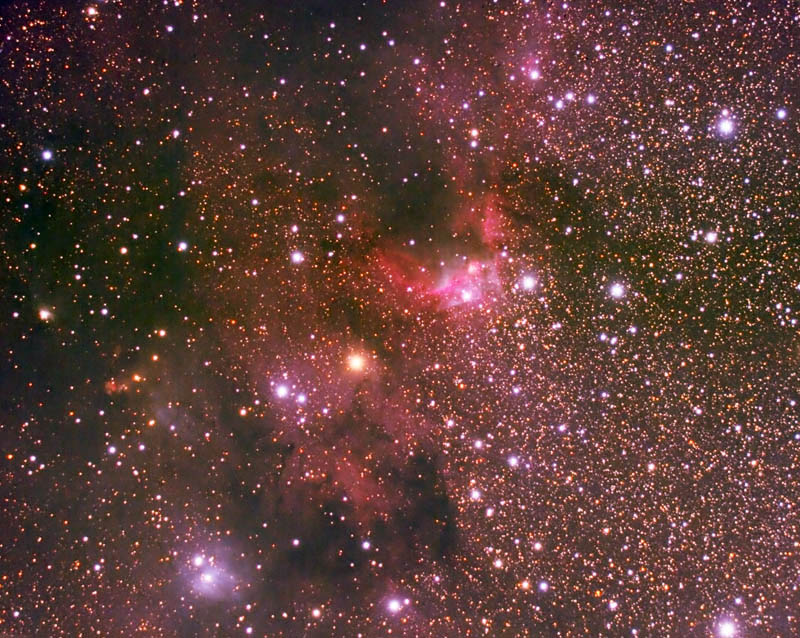 cave nebula narrow band - photo #25